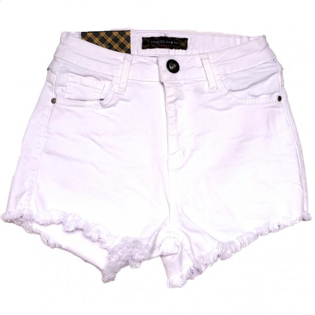 0817 белые Redmoon шорты джинсовые женские стрейчевые (25-30, 6 ед.) REDMOON: артикул 1110149