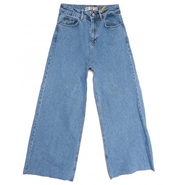 2092 777Plus джинсы-трубы синие весенние коттоновые (25-32, 8 ед.) 777Plus: артикул 1110448