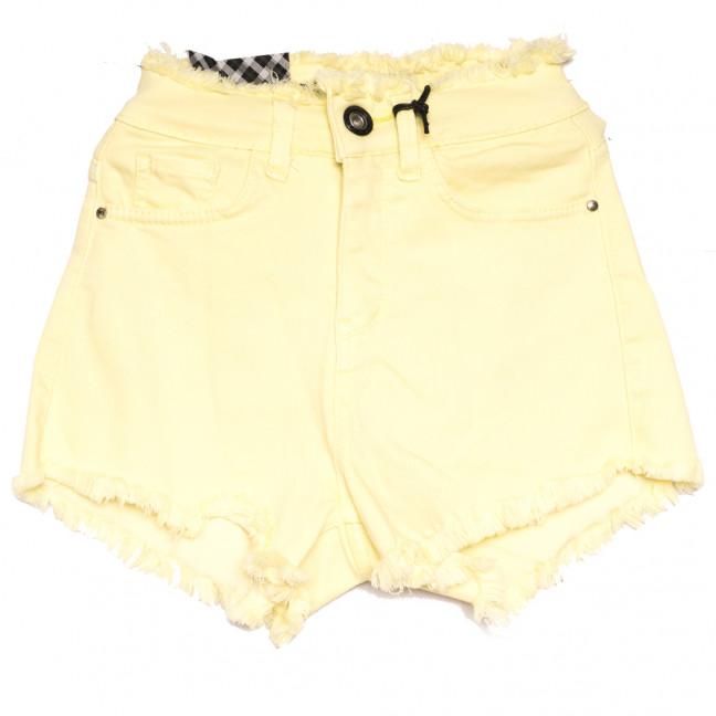 0825 Red Moon шорты джинсовые женские желтые весенние стрейчевые (25-30, 6 ед.) Red Moon: артикул 1110221