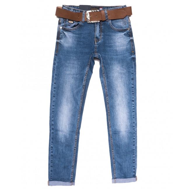 9656 Resalsa джинсы мужские молодежные синие весенние стрейчевые (27-33, 7 ед.) Resalsa: артикул 1109732