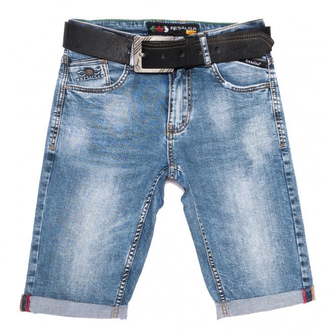 6066 Resalsa шорты джинсовые мужские молодежные синие стрейчевые (27-33, 7 ед.) Resalsa: артикул 1109691