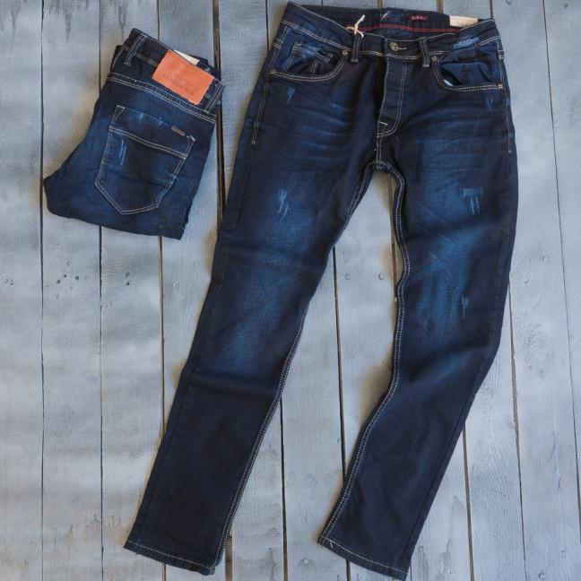 3851 Fashion Red джинсы мужские с царапками весенние стрейчевые (29-36, 8 ед.) Fashion Red: артикул 1109417