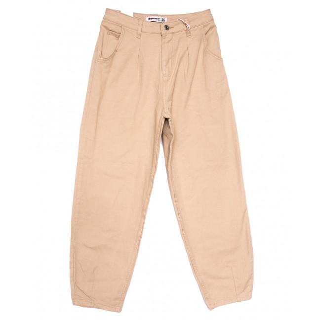 3437 бежевые Xray джинсы-баллон весенние коттоновые (26-31, 6 ед.) XRAY: артикул 1110399