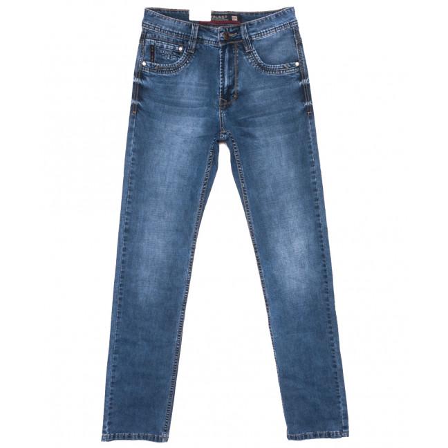 9402 Baron джинсы мужские синие весенние стрейчевые (29-38, 8 ед.) Baron: артикул 1110073