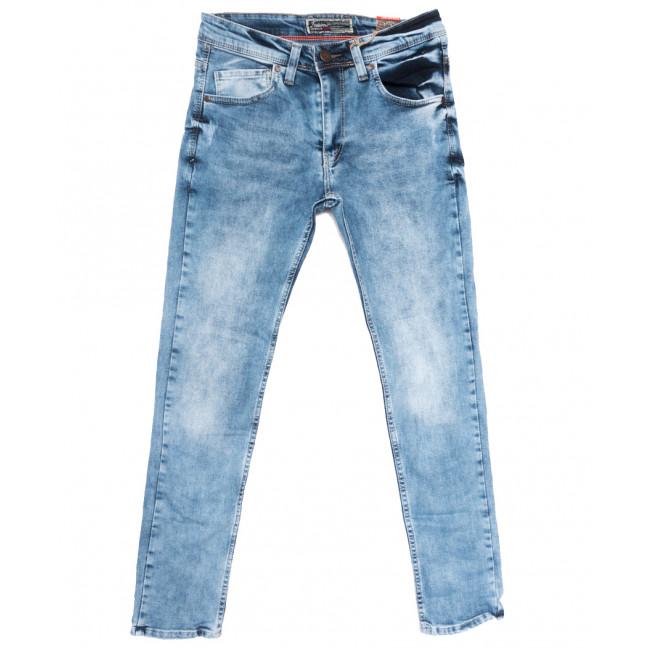 6852 Fashion Red джинсы мужские с царапками синие весенние стрейчевые (29-36, 8 ед.) Fashion Red: артикул 1109911