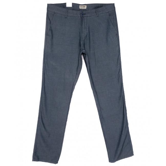 0913 Plus Press брюки мужские батальные синие весенние коттоновые (34-42, 8 ед.) Plus Press: артикул 1110026