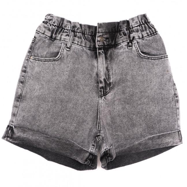 4021-5 Real Focus шорты джинсовые женские серые коттоновые (26-30, 5 ед.) Real Focus: артикул 1110509