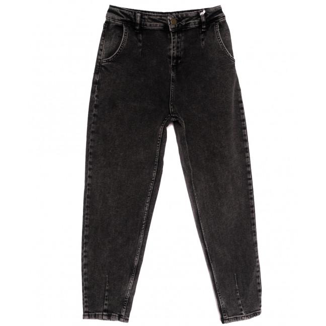 1017 Esqua джинсы-баллон темно-серые весенние стрейчевые (26-31, 6 ед.) Esqua: артикул 1110458