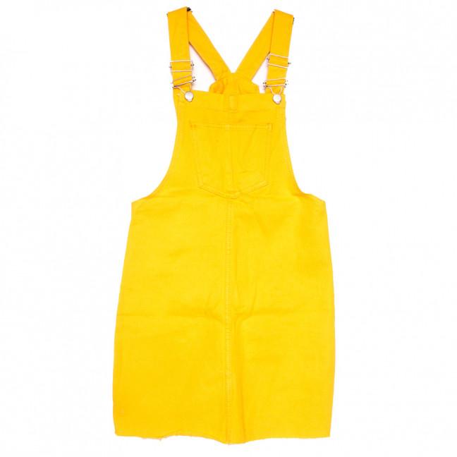 0130 жёлтый Defile сарафан джинсовый весенний коттоновый (25-30, 7 ед.) Defile: артикул 1110303