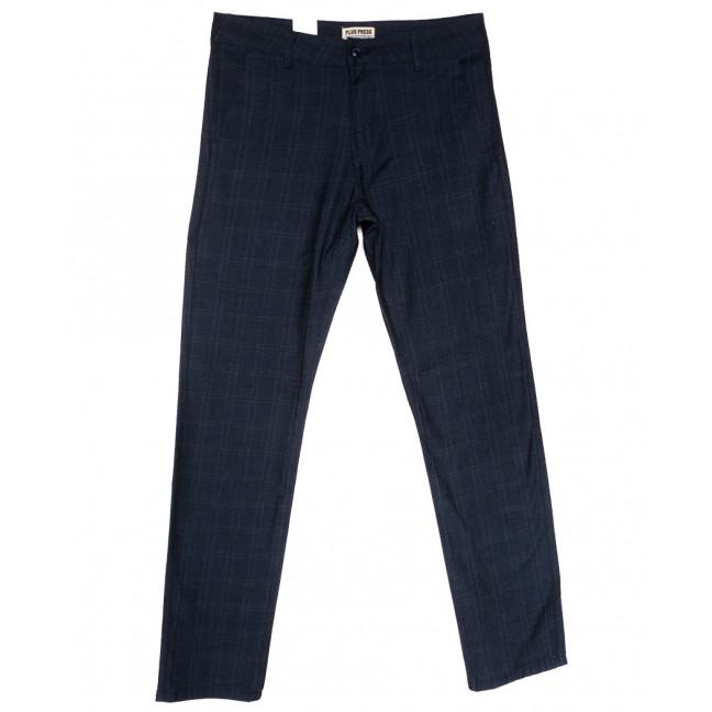 0897 Plus Press брюки мужские темно-синие весенние стрейчевые (30-38, 8 ед.) Plus Press: артикул 1110014