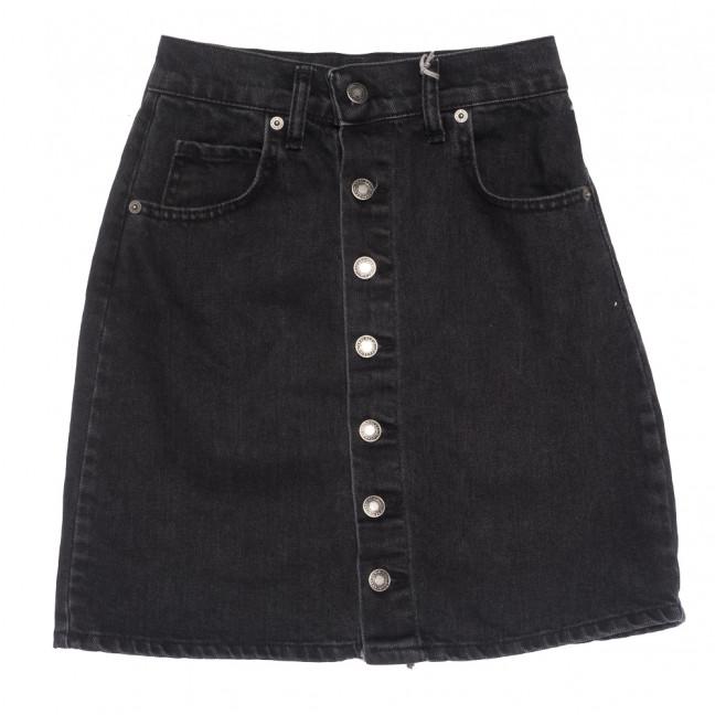3148 Xray юбка джинсовая на пуговицах серая коттоновая (34-40,евро, 6 ед.) XRAY: артикул 1109860