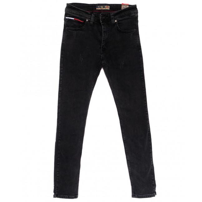 6838 Blue Nil джинсы мужские с царапками серые стрейчевые (29-36, 8 ед.) Blue Nil: артикул 1110252