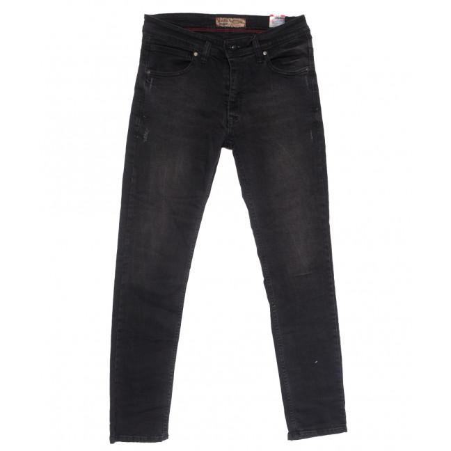 6810 Redcode джинсы мужские полубатальные c царапками серые весенние стрейчевые (32-40, 8 ед.) Redcode: артикул 1110138