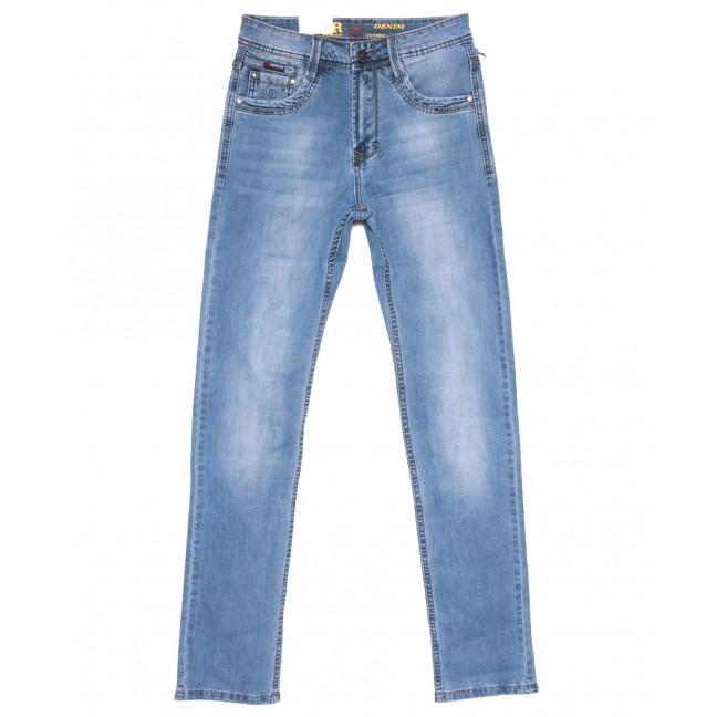 9433 Baron джинсы мужские синие весенние стрейчевые (29-38, 8 ед.) Baron: артикул 1110077