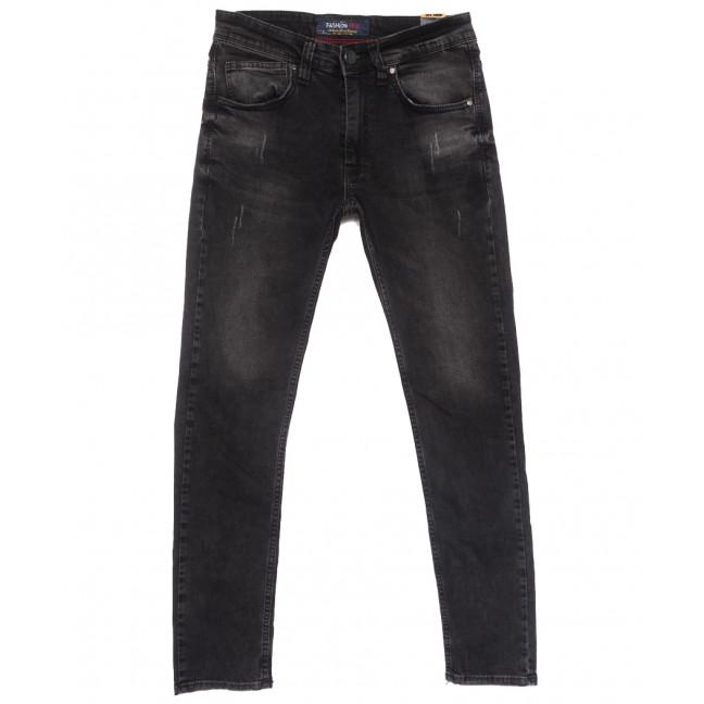 6709 Fashion Red джинсы мужские с царапками серые весенние стрейчевые (29-36, 8 ед.) Fashion Red: артикул 1110132
