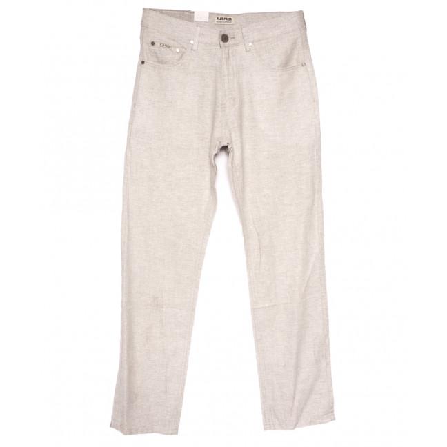 0304 Plus Press брюки мужские полубатальные бежевые весенние коттоновые (32-42, 8 ед.) Plus Press: артикул 1110023