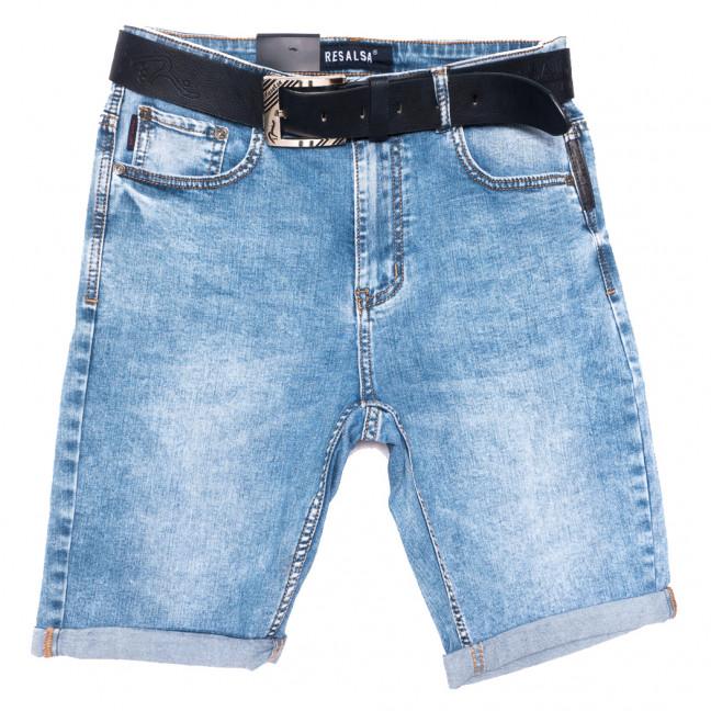 6233 Resalsa шорты джинсовые мужские полубатальные синие стрейчевые (32-42, 7 ед.) Resalsa: артикул 1109692