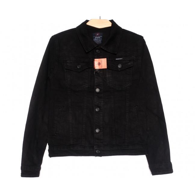 0225-2 A Relucky куртка джинсовая женская черная осенняя стрейчевая (S-ХХL, 6 ед.) Relucky: артикул 1110377