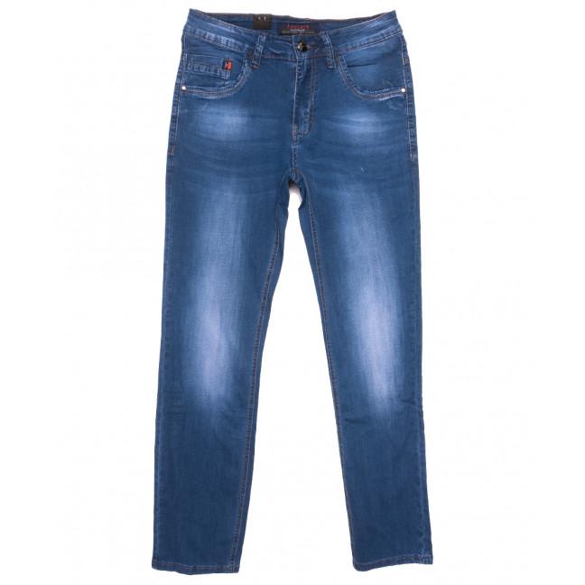 16002 Feerars джинсы мужские синие весенние стрейчевые (29-38, 8 ед.) Feerars: артикул 1109636