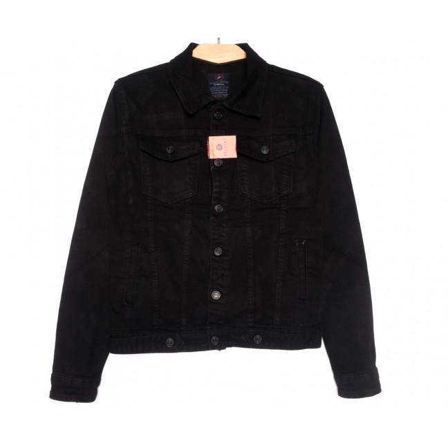 2260-2 A Relucky куртка джинсовая женская черная осенняя стрейчевая (S-ХХL, 6 ед.) Relucky: артикул 1110378