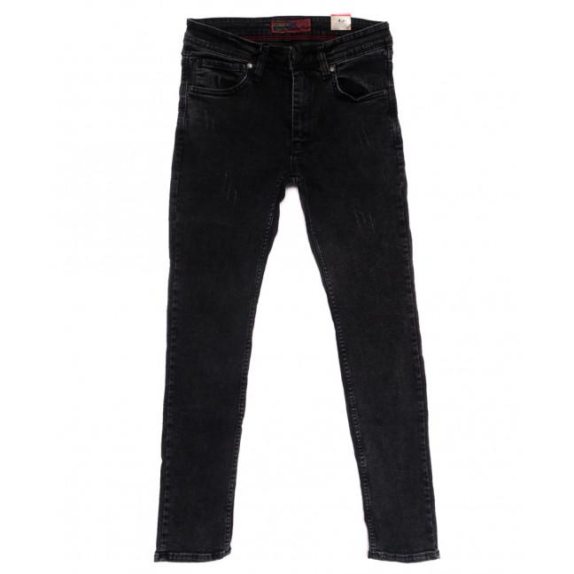 6836 Corcix джинсы мужские с царапками серые стрейчевые (29-36, 8 ед.) Corcix: артикул 1110250