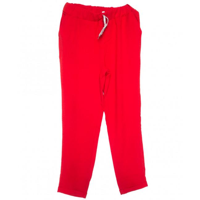 0216-44 красные Exclusive брюки женские летние стрейчевые (42-48,евро, 4 ед.) Exclusive: артикул 1109753