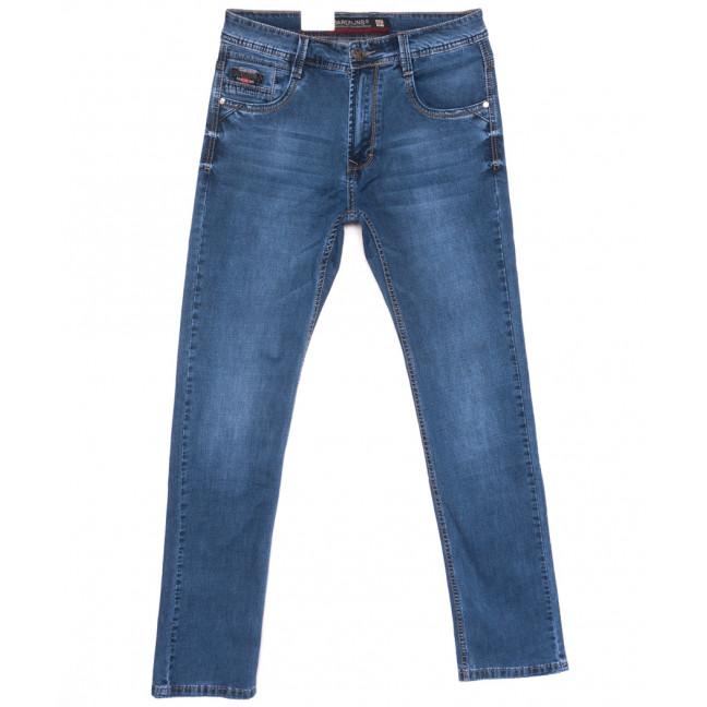 9411 Baron джинсы мужские полубатальные синие весенние стрейчевые (33-38, 8 ед.) Baron: артикул 1110076
