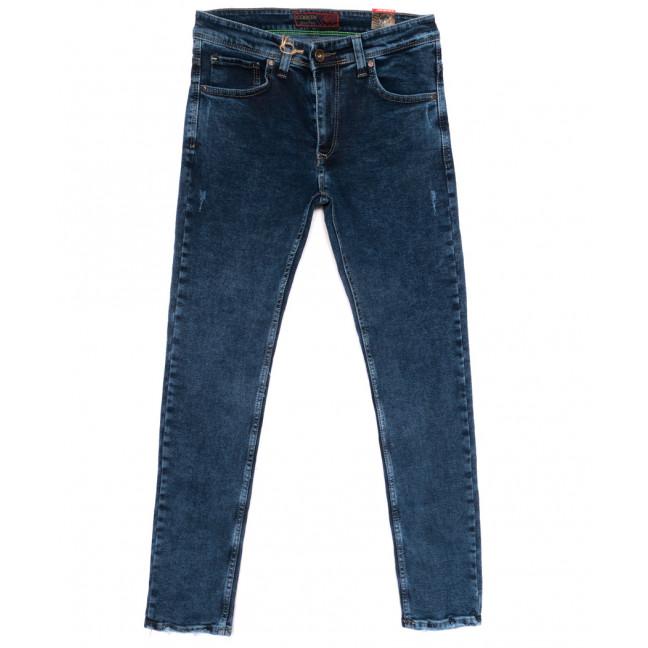 6819 Corcix джинсы мужские с царапками синие весенние стрейчевые (29-36, 8 ед.) Corcix: артикул 1110260
