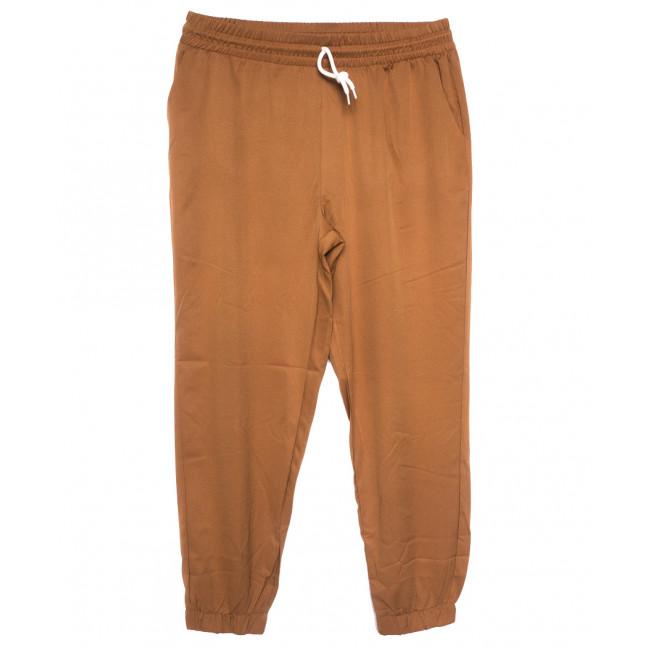 0237-54 коричневые Exclusive брюки женские спортивные батальные стрейчевые (50-54, 3 ед.) Exclusive: артикул 1109755