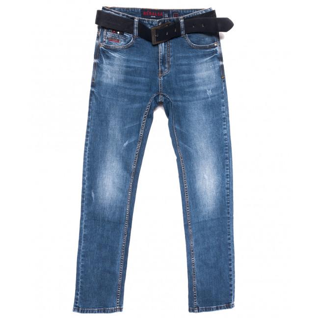 9699 Resalsa джинсы мужские с царапками синие весенние стрейчевые (29-36, 7 ед.) Resalsa: артикул 1109728
