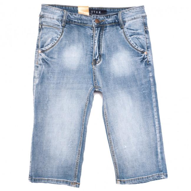 0306 T-Star шорты джинсовые мужские с царапками синие стрейчевые (30-36, 8 ед.) T-Star: артикул 1109842