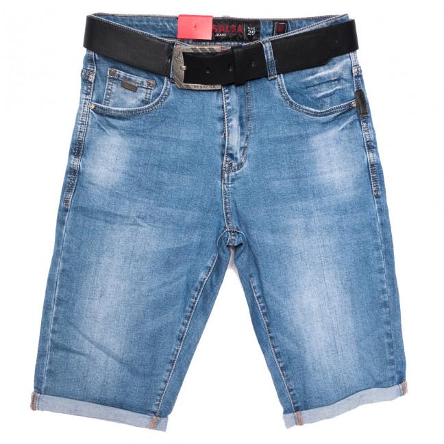 6051 Resalsa шорты джинсовые мужские синие стрейчевые (29-36, 7 ед.) Resalsa: артикул 1109684