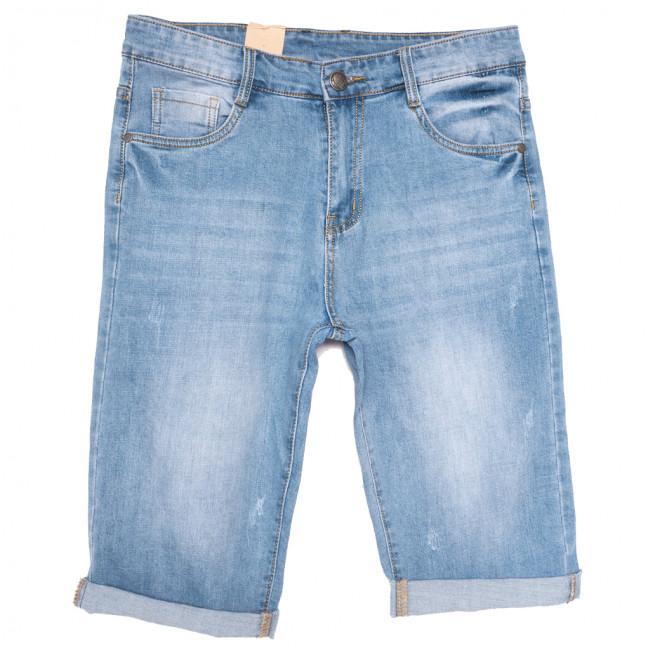 0993 Kalian шорты джинсовые мужские с царапками синие стрейчевые (30-36, 8 ед.) Kalian: артикул 1109840