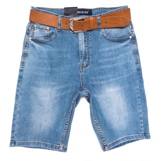 6228 Resalsa шорты джинсовые мужские полубатальные синие стрейчевые (32-42, 7 ед.) Resalsa: артикул 1109693