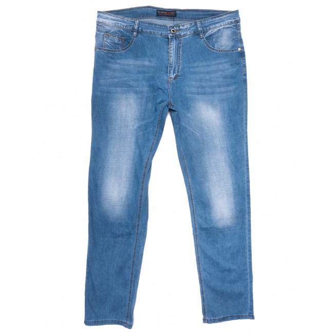 8003 Vouma-Up джинсы мужские полубатальные синие весенние стрейчевые (32-38, 8 ед.) Vouma-Up: артикул 1109645