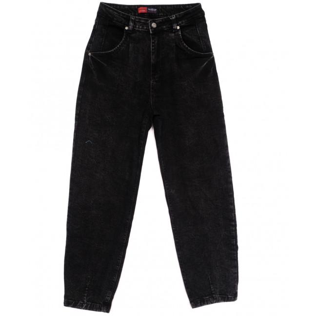 0051-3 М Relucky джинсы-баллон темно-серые осенние стрейчевые (25-30, 6 ед.) Relucky: артикул 1110578