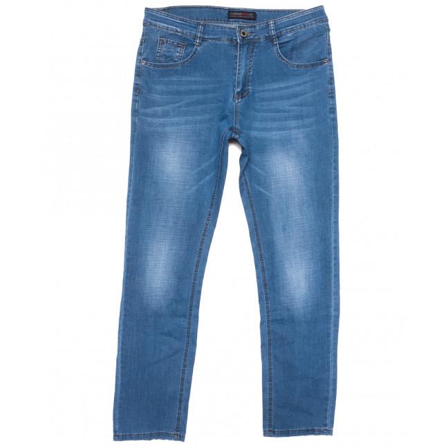 8001 Vouma-Up джинсы мужские полубатальные синие весенние стрейчевые (32-38, 8 ед.) Vouma-Up: артикул 1109639
