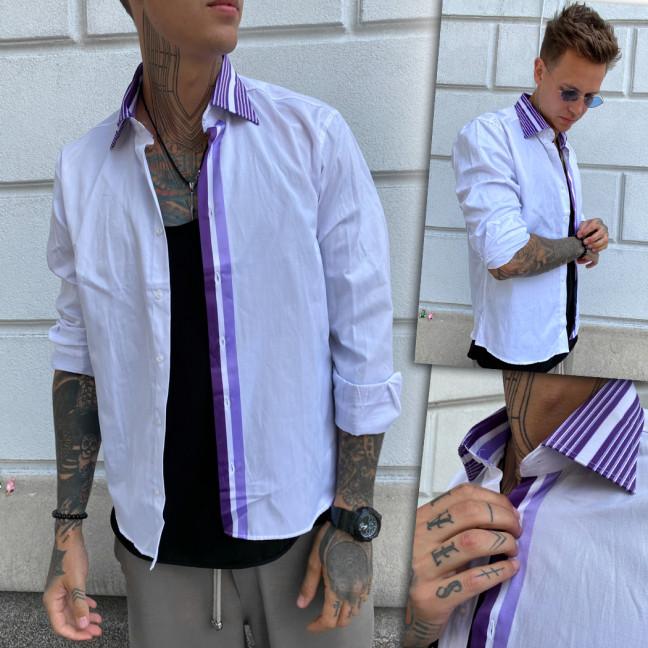 2935-1 Afish рубашка мужская батальная белая (3XL-6XL, 4 ед.) Afish: артикул 1109884