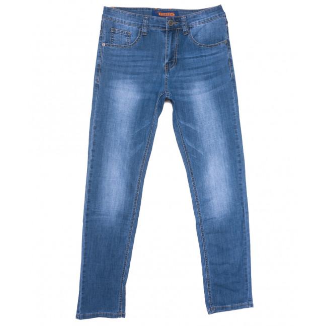 8035 Pobeda джинсы мужские синие весенние стрейчевые (29-38, 8 ед.) Pobeda: артикул 1109651