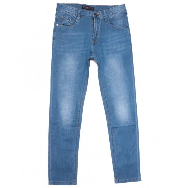 8010 Vouma-Up джинсы мужские полубатальные синие весенние стрейчевые (32-38, 8 ед.) Vouma-Up: артикул 1109663