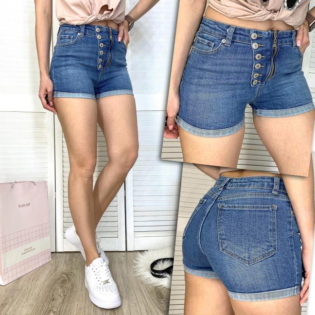 2788-1 Xray шорты джинсовые женские на змейке стрейчевые (34-42, 5 ед.) XRAY: артикул 1109763