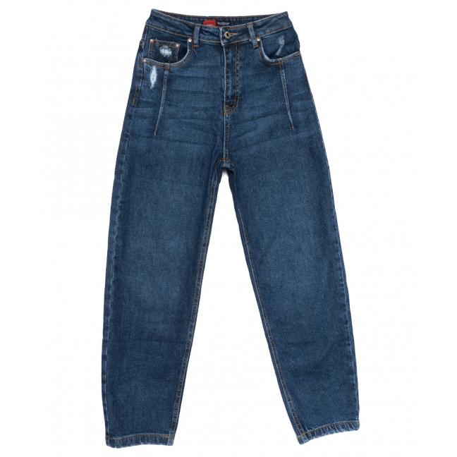0065-3 М Relucky джинсы-баллон синие осенние стрейчевые (25-30, 6 ед.) Relucky: артикул 1110661