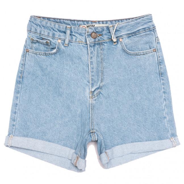 2044 MJS шорты джинсовые женские синие коттоновые (25-32, 6 ед.) MJS: артикул 1110712