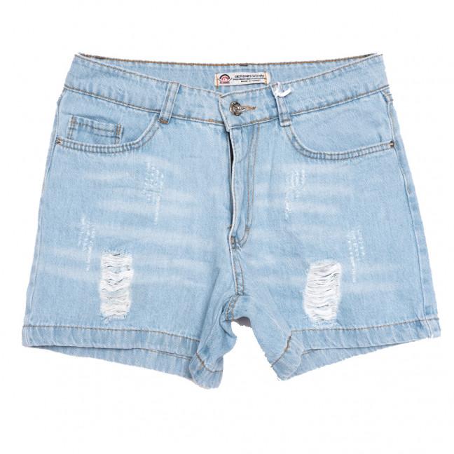 3360 Geronis шорты джинсовые женские c рванкой синие коттоновые (34-42,евро, 8 ед.) Geronis: артикул 1110669