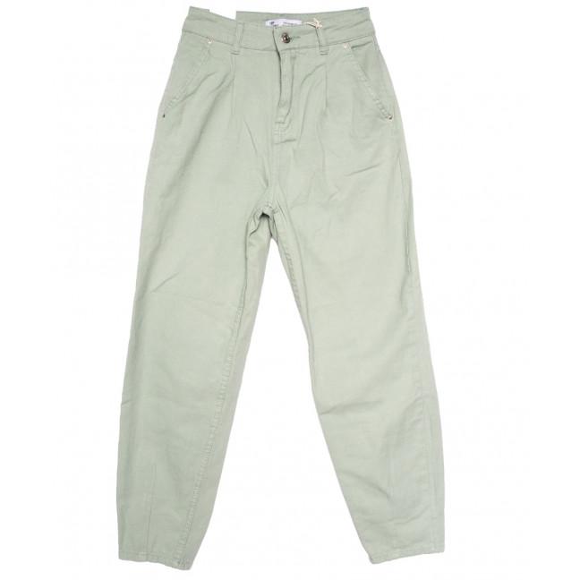 3390 Top secret джинсы-багги мята осенние коттоновые (25-32, 8 ед.) Top Secret: артикул 1110662
