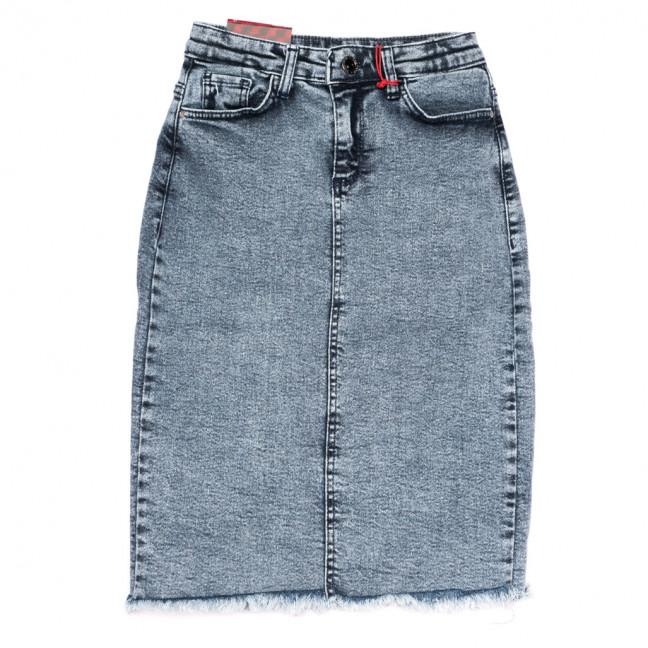 0822 Redmoon юбка джинсовая синяя весенняя стрейчевая (25-30, 6 ед.) REDMOON: артикул 1110727