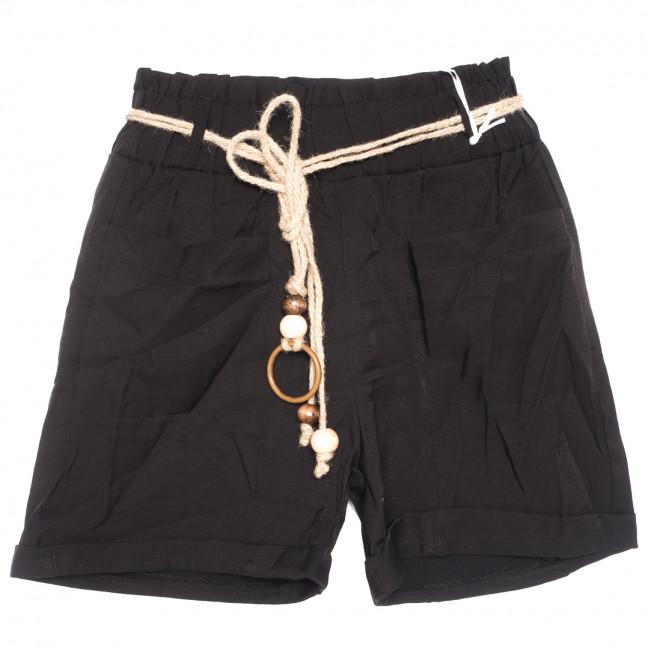 1704 черные Its basic шорты женские коттоновые (36-42,евро, 6 ед.) Its Basic: артикул 1110744