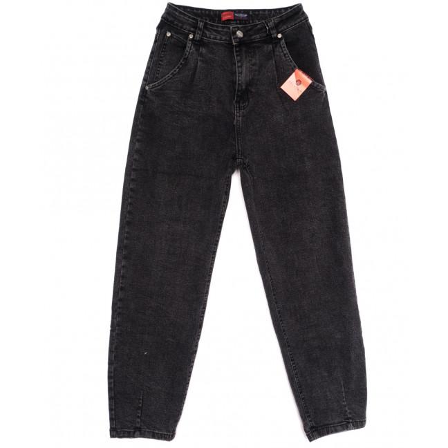 0084-2 М Relucky джинсы-баллон темно-серые осенние стрейчевые (25-30, 6 ед.) Relucky: артикул 1110637