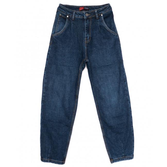 0060-3 М Relucky джинсы-баллон синие осенние стрейчевые (25-30, 6 ед.) Relucky: артикул 1110641