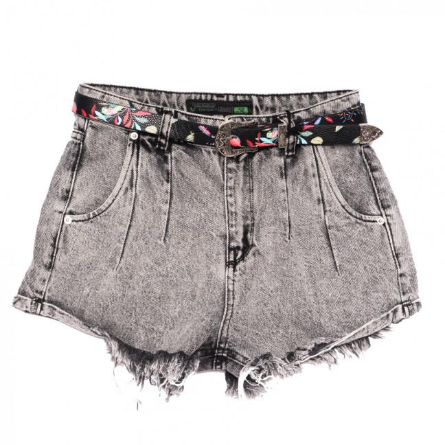 0323 Sherocco шорты джинсовые женские серые коттоновые (25-30, 6 ед.) SheRocco: артикул 1110823